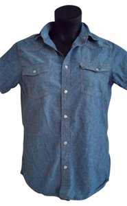 Mossimo Supply Co. Denim Plus Size Clothing Spring Trends Button Down Shirt