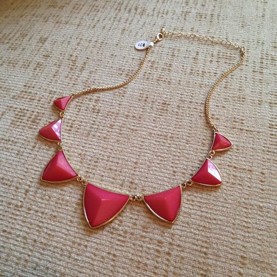 Other Pink Geometric Gem Necklace