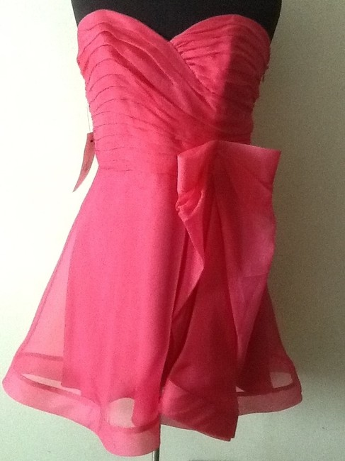 Preload https://img-static.tradesy.com/item/715344/abs-by-allen-schwartz-hot-pink-style-315636301-above-knee-night-out-dress-size-10-m-0-0-650-650.jpg