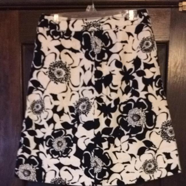Merona Skirt Black And Cream