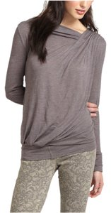 Anthropologie Top Purple grey