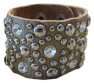 Other Studded Leather Bracelet