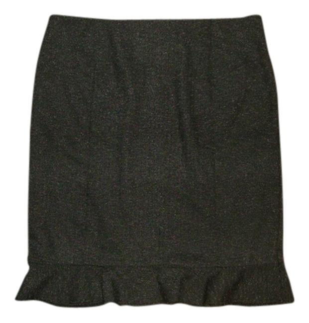 AB Studio Skirt charcoal grey