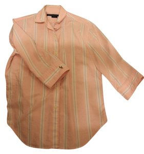 Ralph Lauren Preppy Button Down Shirt Pink