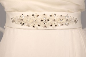 Your Dream Dress Exclusive Sblt17 Light Ivory Embellished Bridal Sash