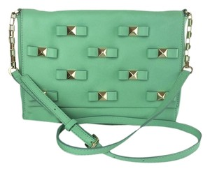 Kate Spade New York Bow Terrace mintcream green Clutch