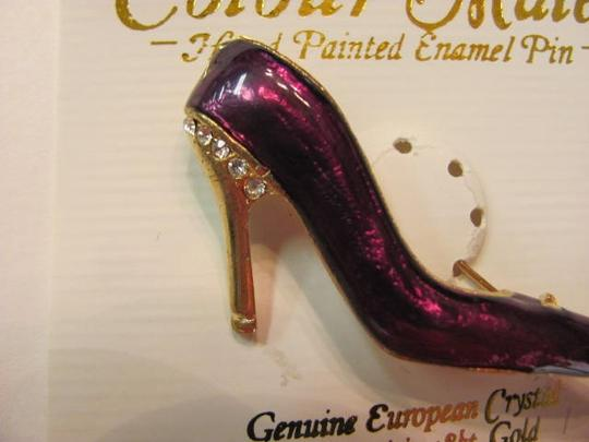 COLOURMATE SHOE PIN/BROOCH NEW ON CARD