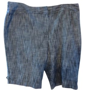 Larry Levine Shorts Black, Gray