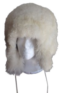 myflyingboutique 100% Real Alpaca Fur Winter Hat