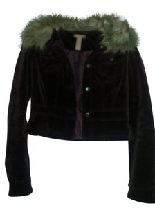 Gadzooks Faux Jacket Corduroy Winter Warm Fur Coat