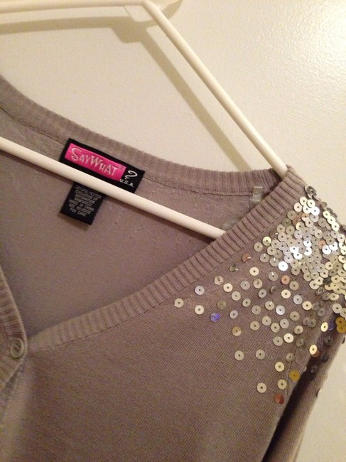 Say What? Sequined Summer Spring Jacket Cardigan