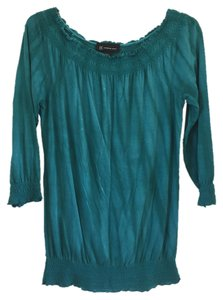 INC International Concepts Top Teal