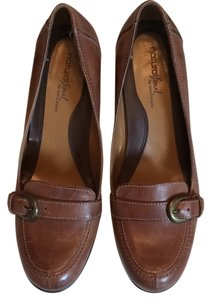 Naturalizer Naturalsoul Leather Brown Pumps