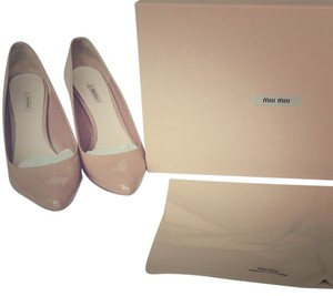 Miu Miu Blush Pink Pumps