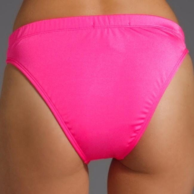 Wildfox wildfox couture Wild fox bikini bottoms neon pink