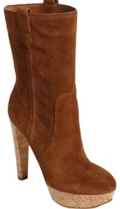 Michael Kors Suede Leather brown Boots