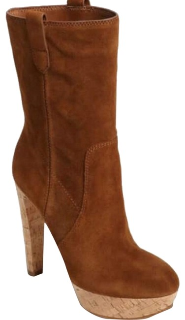 Michael Kors Brown Brielle Boots/Booties Size US 5 Regular (M, B) Michael Kors Brown Brielle Boots/Booties Size US 5 Regular (M, B) Image 1
