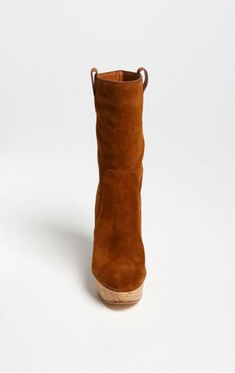 Michael Kors Suede Leather brown Boots Image 1