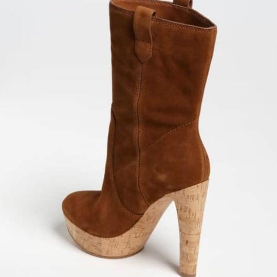 Michael Kors Suede Leather brown Boots Image 2