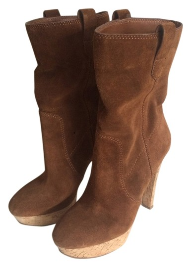 Michael Kors Suede Leather brown Boots Image 3