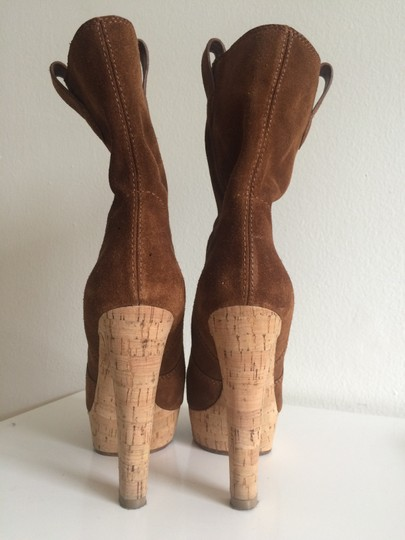 Michael Kors Suede Leather brown Boots Image 4