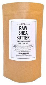 Shea Butter Unrefined Ivory Shea Butter - Best Rated Ingredient Skin Care Recipes - For Dry or Acne-Prone Skin, Eczema, , Stretch Marks