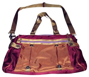 George Gina & Lucy Tote in Pink, Orange, Gold