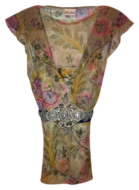 Tracy Reese Top Floral print