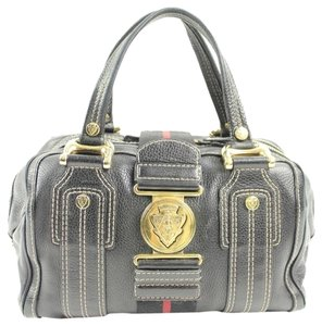 Gucci Satchel in Navy/ black