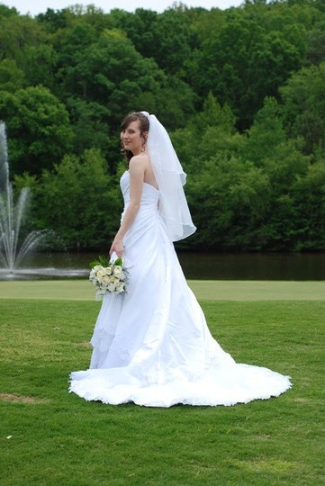David's Bridal T9466 Wedding Dress