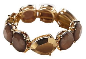 Anthropologie Gold Rush Stretch Bracelet