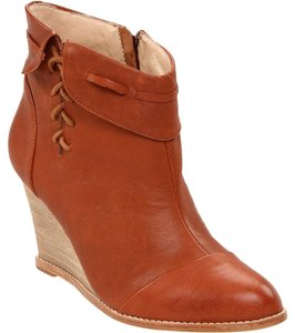 Matt Bernson Wedge Leather Lacing Trim Ankle Quercia Maranhao Boots