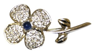Brilliant Brooch Diamond Flower Pin