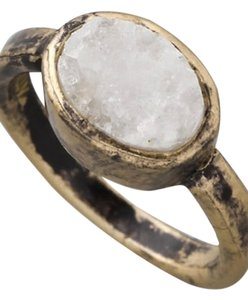 Erin Wasson Low Luv x Erin Wasson - Rough Crystal Station Ring