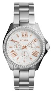 Fossil Fossil Women's Silver Analog Watch AM4629