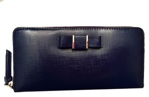 Coach COACH DARCY BOW ACCORDION ZIP AROUND WALLET F52172: MSRP $268