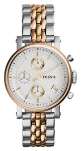 Fossil Fossil Women's Silver Analog Watch ES3840