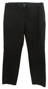 J.Crew Ankle Length Tapered Stretch Capri/Cropped Pants Black