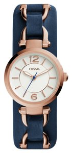 Fossil Fossil Women's Rose Gold Analog Watch ES3857