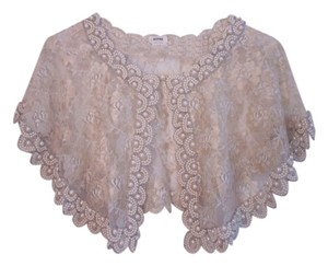 Moyna Lace Pearl Beaded Cape