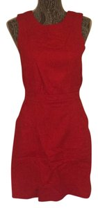 Marc Jacobs short dress Red orange on Tradesy