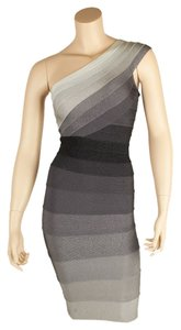 Herv Leger Herve Eliana Ombre Dress