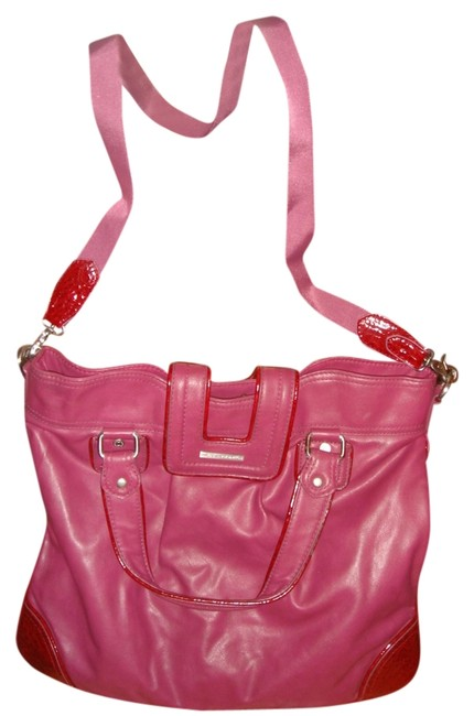 Item - Shouldber Red Leather. Cross Body Bag