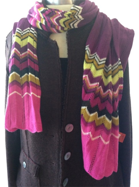 Item - Pink Purple and Green Scarf/Wrap
