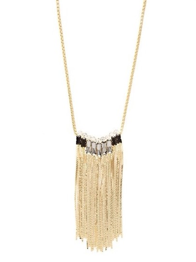 Cära Couture Jewelry Tassel Pendant Necklace