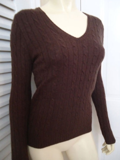 J.Crew Cashmere Blend Cable Knit Classy Sweater Image 2
