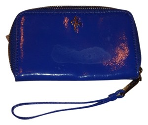 Cole Haan Wallet Small Wallet Smal Pouch Clutches Wristlet in Blue