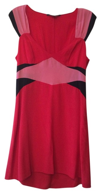 A|X Armani Exchange Color Blocking V-neck Dress
