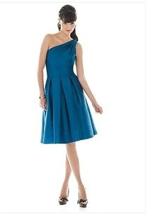 Alfred Sung Blue D458 In Mosaic Blue Dress