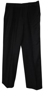 Larry Levine Wool Trouser Pants Black